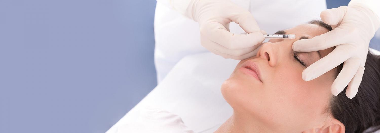 Injection de toxine botulique technique médicale pour la migraine en Suisse